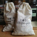 Grain Grocer: reusable, refillable bags. Get a 5% discount with your own bag