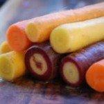 Brockmans: Rainbow carrots