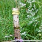 Kids activity: Make a stick person & take it on a market adventure