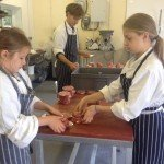 Jacob's Ladder: School holiday help in the butchery!
