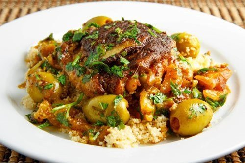 Chicken and Baby Turnip Tagine from Lover of Creating Flavours